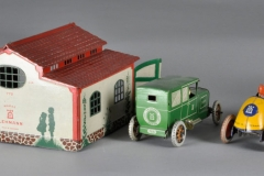 Autohutte Garage EPL722 | Lehmann Tin Toy