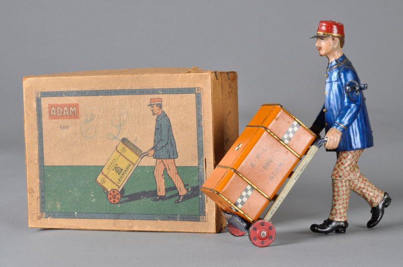 Adam the Porter | Lehmann Tin Toy Collection