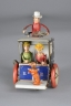 "Lehmann blue ""Li-La Hansom Cab"" Mad Women w/Dog & Driver"