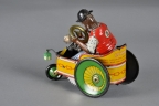 "Lehmann ""Mixtum"" Black Clown Drives Comical Cart"