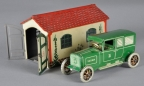 "Lehmann ""Sedan"" Green Windup Vehicle"